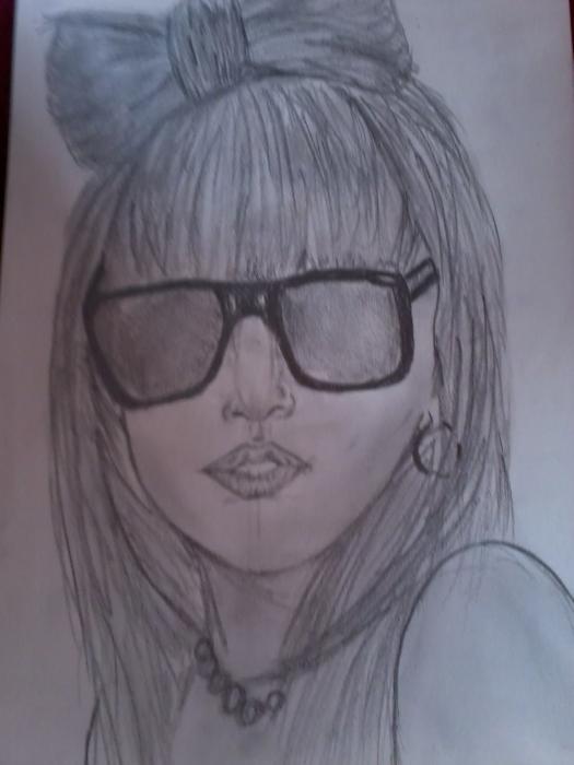 Lady Gaga par Marihy
